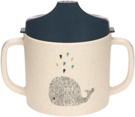 Lässig Sippy Cup PP/Cellulose Little Water Whale