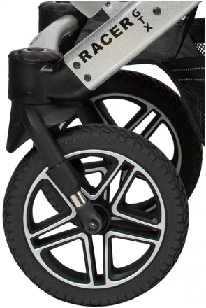 Hartan Front wheel Solight Ecco Air chamber tyres with Trigon rim RD078 for Racer GTX 2021