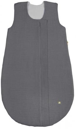 Odenwälder Muslin summer sleeping bag 70 cm grey
