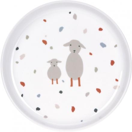 Lässig Porcelaine Plate Tiny Farmer Goose