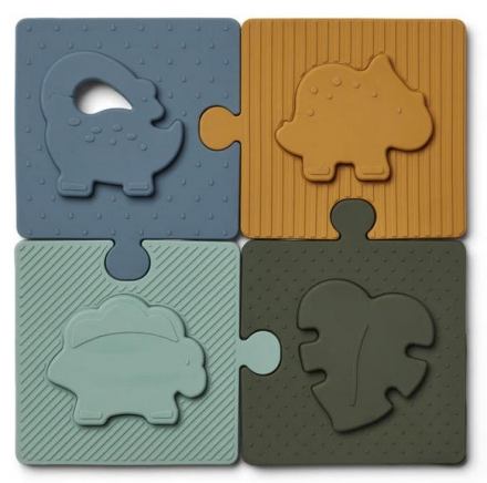Liewood Bodil Puzzle Dino blue multi mix