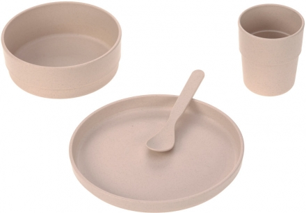 Lässig Dish set PP/Cellulose uni powder pink