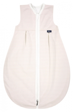 Alvi Sleeping bag Mäxchen-Thermo Organic Cotton Ringlets 110 cm rose
