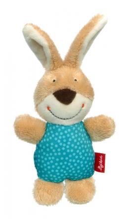 Sigikid 42801 Rattle bunny RedStars