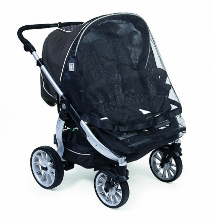 Teutonia mosquito net for Team Cosmo twin pram