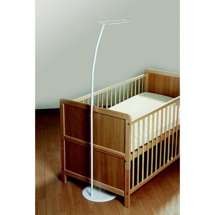 Himmelstange mit Fuß für Kinderbett