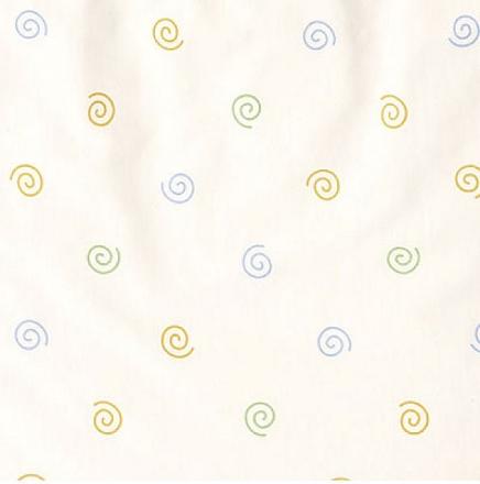 ALVI Babydecke Jersey Kringel weiß 75x100 cm (Alvi)