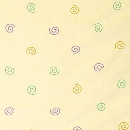 Alvi Babydecke Jersey Kringel gelb 75x100 cm