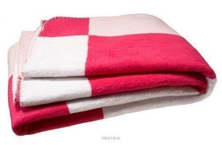 Jollein Babydecke rosa/rot/weiß Bloc 514-511-64732