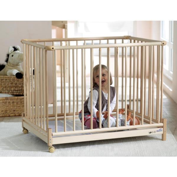 geuther laufstall euro parc 2234 102 x 102cm we 003. Black Bedroom Furniture Sets. Home Design Ideas