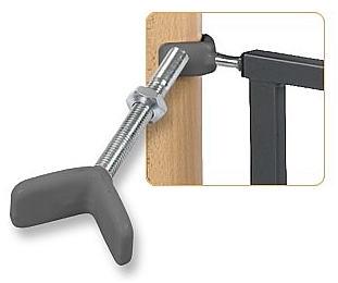 geuther verl ngerung 8 cm f r schutzgitter easy lock wood. Black Bedroom Furniture Sets. Home Design Ideas