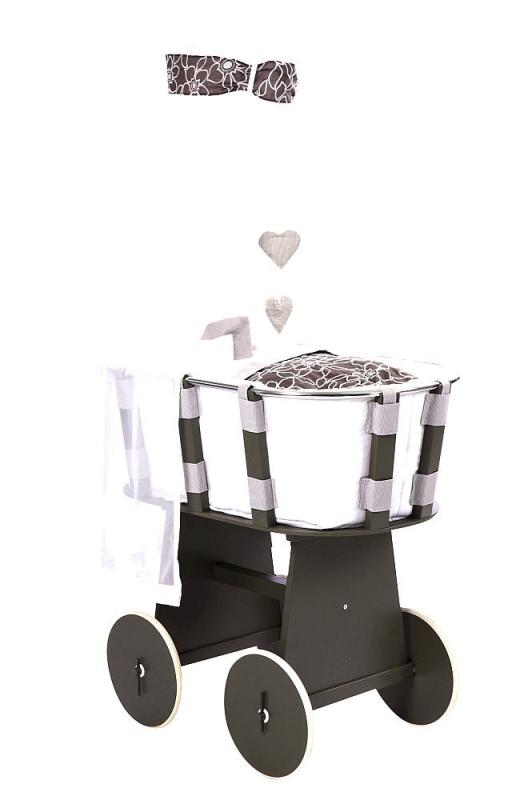 gesslein stubenwagen stone mit himmel melody. Black Bedroom Furniture Sets. Home Design Ideas