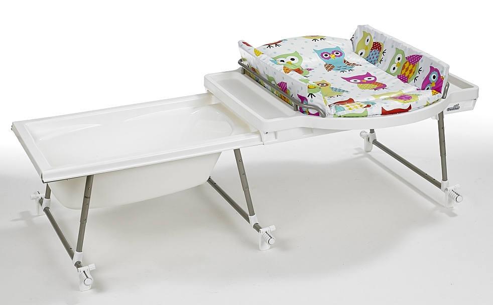 geuther aqualino bade wickelkombination 4830 022. Black Bedroom Furniture Sets. Home Design Ideas