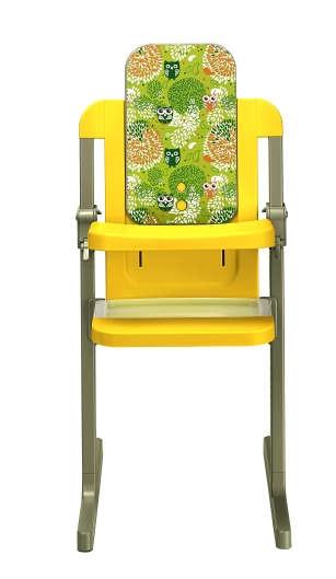 brevi 212262 slex evo hochstuhl cedar yellow. Black Bedroom Furniture Sets. Home Design Ideas