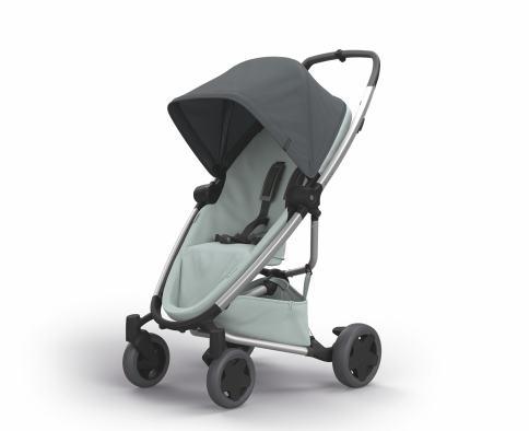 Quinny 1398999000 Zapp Flex Plus Buggy graphite on grey