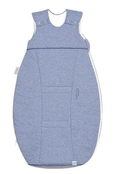 odenw lder jersey schlafsack airpoints 90 cm melange bleu. Black Bedroom Furniture Sets. Home Design Ideas