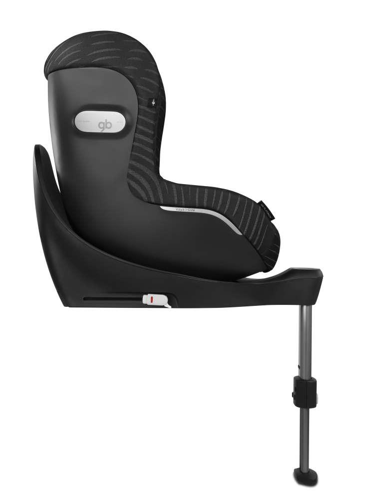 gb vaya plus i size platinum lux black black. Black Bedroom Furniture Sets. Home Design Ideas