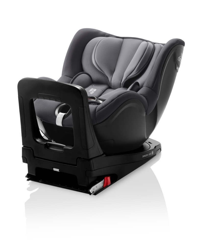 britax r mer swingfix i size storm grey. Black Bedroom Furniture Sets. Home Design Ideas