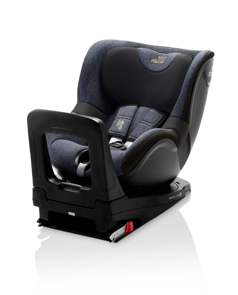 britax r mer swingfix i size blue marble. Black Bedroom Furniture Sets. Home Design Ideas
