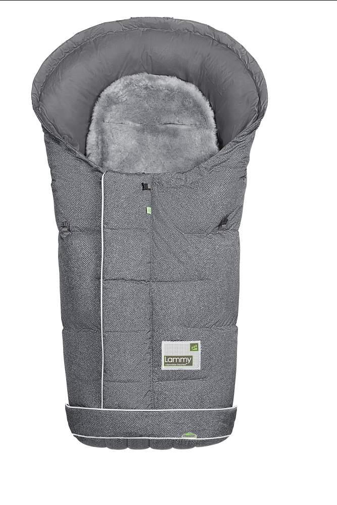 Farbe 1078 Soft Grey Odenw/älder Fu/ßsack Lo-Go Fashion New Woven