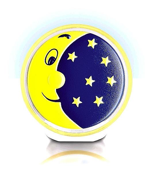 LED-Nachtlicht im Mond- und Sternedesign
