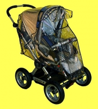 Universal Regenverdeck für Buggy und Sportwagen mit Klappe