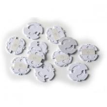 REER Steckdosenschutz klebbar weiß 10er Pack