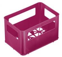Rotho Flaschenbox für Weithalsflasche raspberry