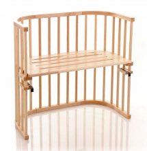 Tobi babybay rollaway bed Original natural lacquered