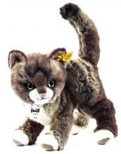 Steiff Katze Kitty 25 grau/beige stehend