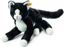 Steiff Schlenker-Katze Mimmi 30 schwarz/weiss