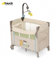 Hauck Dream'n Care Center Bear Reisebett und Beistellbett