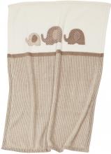 ALVI microfiber baby blanket Elephant 75 x 100 cm