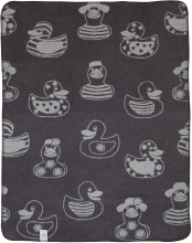 ALVI cotton baby blanket 75 x 100 cm 9317435307 Enten