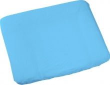 Odenwälder aqua terrycloth cover for changing map 75x85cm