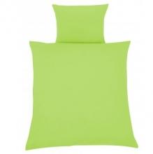 Zöllner Bettwäsche uni grün 80x80cm