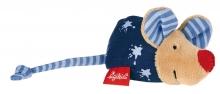 Sigikid 49137 Rassel Maus blau