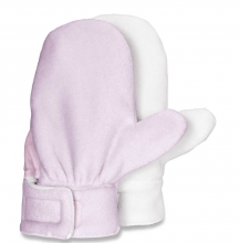 Sterntaler fleece gloves 24929 size 2 rosa