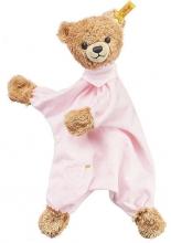 Steiff 239533 sleep well comforter rosa 30 cm
