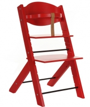 Treppy 1007 red highchair