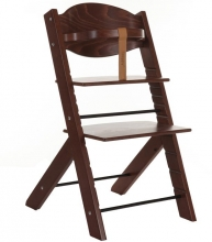 Treppy 1005 walnut brown highchair