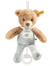 Steiff Musical toy Sleep well bear 20cm grey