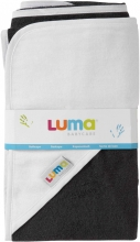 Luma bathcape Dark Grey L01003