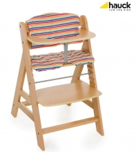 Hauck Highchair pad 668061 multicolour stripes 112