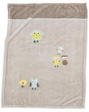 Alvi Microfaser Baby Decke Birds 75 x 100 cm 931844166