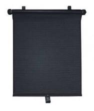 Auto-Sonnenschutzrollo universal schwarz
