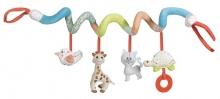 Sophie la girafe 230765 Kinderwagenkette / Bettchenspielzeug