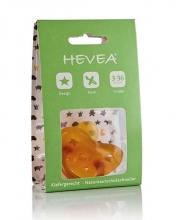 Hevea 223203 pacifier star & moon 3 Mon -  (orthodontic)