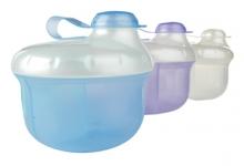 Nüby Milchpulverbox - farblich sortiert