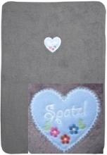 Zöllner 1469-0 Sparrow Princess cotton baby blanket 75/100